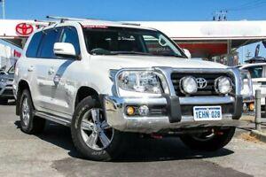 2013 Toyota Landcruiser VDJ200R MY13 Altitude Crystal Pearl 6 Speed Sports Automatic Wagon