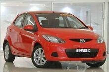 2007 Mazda 2 DE10Y1 Neo Red 5 Speed Manual Hatchback Waitara Hornsby Area Preview