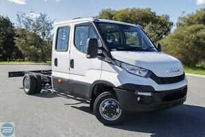 2016 Iveco Daily MY14 50C17 SWB (WB3750) White 8 Speed Automatic Dual Cab Chassis Rockingham Rockingham Area Preview