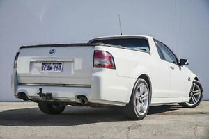 2010 Holden Ute VE MY10 SV6 White 6 Speed Sports Automatic Utility Bellevue Swan Area Preview