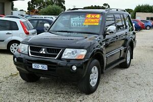 2003 Mitsubishi Pajero EXCEED NP Black Automatic Wagon Delacombe Ballarat City Preview