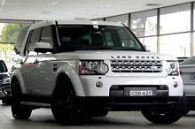 2011 Land Rover Discovery 4 MY11 3.0 SDV6 HSE White 6 Speed Automatic Wagon Roseville Ku-ring-gai Area Preview