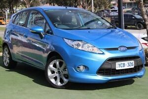 2010 Ford Fiesta WT Zetec Blue 5 Speed Manual Hatchback Berwick Casey Area Preview