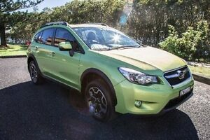 2014 Subaru XV G4-X MY14 2.0I WAGON 5DR LINEA Plasma Green CONTINU Port Macquarie Port Macquarie City Preview