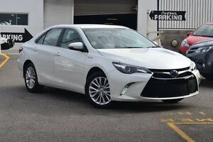 2015 Toyota Camry AVV50R Atara SL Crystal Pearl 1 Speed Constant Variable Sedan Claremont Nedlands Area Preview