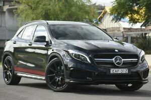 2014 Mercedes-Benz GLA X156 45 AMG 4Matic Black 7 Speed Auto Dual Clutch Wagon