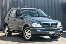 2002 Mercedes-Benz ML W163 270 CDI Luxury (4x4) Blue 5 Speed Auto Tipshift Wagon Ringwood East Maroondah Area Preview