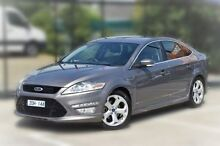 2012 Ford Mondeo MC Titanium PwrShift TDCi Brown 6 Speed Sports Automatic Dual Clutch Hatchback Berwick Casey Area Preview