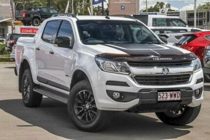 2016 Holden Colorado RG MY16 Z71 Crew Cab White 6 Speed Manual Utility Aspley Brisbane North East Preview