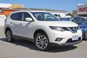 2016 Nissan X-Trail T32 Ti X-tronic 4WD White 7 Speed Constant Variable Wagon East Rockingham Rockingham Area Preview