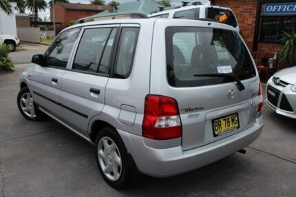 2001 Mazda 121 Metro Shades Silver 4 Speed Automatic Hatchback Hamilton Newcastle Area Preview