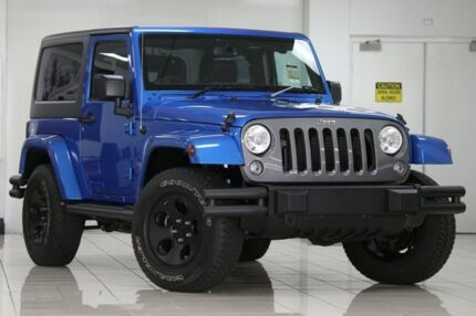 2014 Jeep Wrangler JK MY15 Freedom (4x4) Hydro Blue 5 Speed Automatic Softtop Chatswood West Willoughby Area Preview