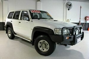 2007 Nissan Patrol DX White Wagon Southport Gold Coast City Preview