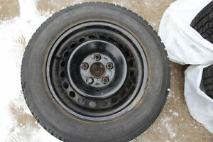 Winter tires on Ford rims Kitchener / Waterloo Kitchener Area image 1