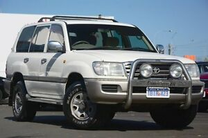 2003 Toyota Landcruiser UZJ100R GXL White 5 Speed Manual Wagon Glendalough Stirling Area Preview
