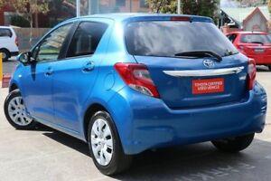 2015 Toyota Yaris NCP131R MY15 SX Blue Gem 4 Speed Automatic Hatchback