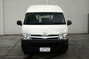 2012 Toyota Hiace KDH221R MY12 Super LWB White 5 Speed Manual Van Seaford Frankston Area Preview