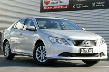 2013 Toyota Aurion GSV50R AT-X Silver Pearl 6 Speed Sports Automatic Sedan Adelaide CBD Adelaide City Preview