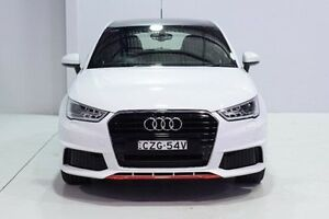 2015 Audi A1 8X MY16 S Line Sportback S tronic White 7 Speed Sports Automatic Dual Clutch Hatchback Wadalba Wyong Area Preview