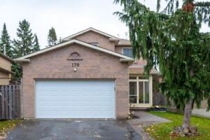 Det'd 2 Storey 3+1 Bdrm Family Home In North Ajax