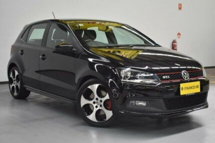 2013 Volkswagen Polo 6R MY13.5 GTI DSG Deep Black Pearl Effect/grey 7 Speed Brooklyn Brimbank Area Preview