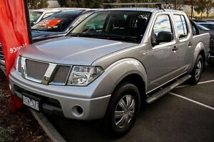 2011 Nissan Navara D40 MY11 RX Silver 5 Speed Automatic Utility Mill Park Whittlesea Area Preview