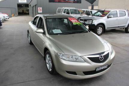 2003 Mazda 6 GG Classic Beige 4 Speed Auto Activematic Sedan