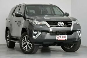 2017 Toyota Fortuner GUN156R Crusade Grey 6 Speed Automatic Wagon