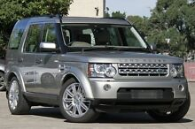 2011 Land Rover Discovery 4 MY11 3.0 SDV6 HSE Beige 6 Speed Automatic Wagon Petersham Marrickville Area Preview
