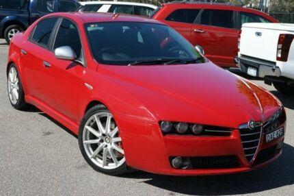 2009 Alfa Romeo 159 MY09 JTD Ti Red 6 Speed Sports Automatic Sedan