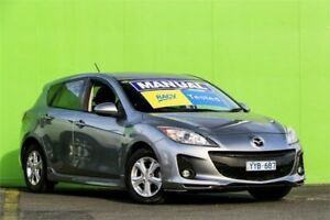 2012 Mazda 3 BL10F2 Maxx Sport Grey 6 Speed Manual Hatchback Ringwood East Maroondah Area Preview