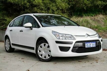 2010 Citroen C4 MY09 VTi White 4 Speed Automatic Hatchback Glendalough Stirling Area Preview