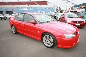 2005 Holden Commodore VZ SV6 Red 5 Speed Sports Automatic Sedan Kingsville Maribyrnong Area Preview