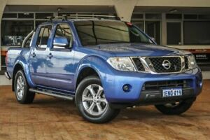 2013 Nissan Navara D40 S6 MY12 ST Blue 5 Speed Sports Automatic Utility Melville Melville Area Preview