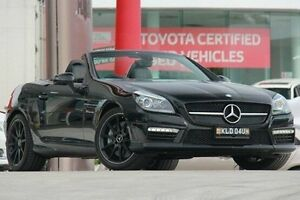 2012 Mercedes-Benz SLK55 R172 AMG SPEEDSHIFT PLUS Black 7 Speed Sports Automatic Roadster Pennant Hills Hornsby Area Preview