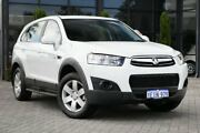 2013 Holden Captiva CG Series II MY12 7 SX White 6 Speed Sports Automatic Wagon Osborne Park Stirling Area Preview