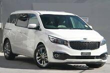 2016 Kia Carnival YP MY16 Platinum Clear White 6 Speed Sports Automatic Wagon Waitara Hornsby Area Preview