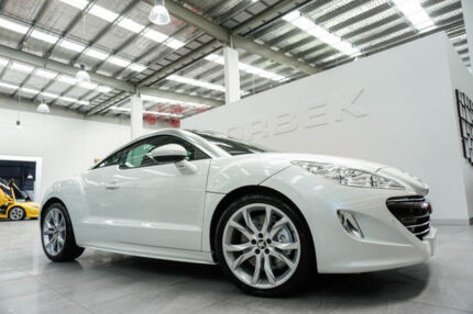 2010 Peugeot RCZ 1.6T White 6 Speed Tiptronic Coupe