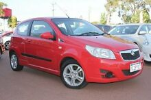 2009 Holden Barina TK MY09 Red 4 Speed Automatic Hatchback Willagee Melville Area Preview