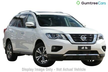 2017 Nissan Pathfinder ST-L ST-L Cayenne Red Constant Variable Wagon