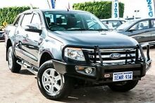 2014 Ford Ranger PX XLT Double Cab Grey 6 Speed Sports Automatic Utility Embleton Bayswater Area Preview