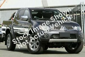 2012 Mitsubishi Triton MN MY12 GLX-R Double Cab Grey 5 Speed Manual Utility Launceston Launceston Area Preview