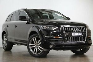 2011 Audi Q7 MY11 TDI Tiptronic Quattro Black 8 Speed Sports Automatic Wagon South Melbourne Port Phillip Preview