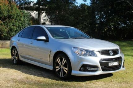 2015 Holden Commodore VF MY15 SV6 Storm Silver 6 Speed Automatic Sedan