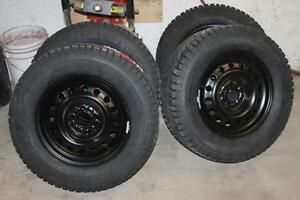 2017 Ford Focus Winter Snow Tires W Rims Wheels New 17 215