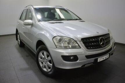 2006 Mercedes-Benz ML320 CDI W164 Silver 7 Speed Sports Automatic Wagon