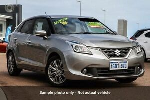 2016 Suzuki Baleno MY16 GLX Turbo Premium Silver 6 Speed Automatic Hatchback Carseldine Brisbane North East Preview