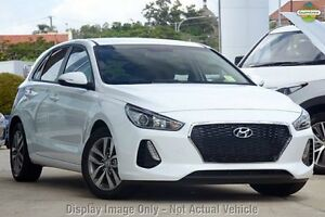 2017 Hyundai i30 PD MY18 Active Polar White 6 Speed Sports Automatic Hatchback Zetland Inner Sydney Preview