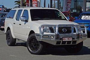 2014 Nissan Navara D40 S5 MY12 ST-X 550 White 7 Speed Sports Automatic Utility Aspley Brisbane North East Preview
