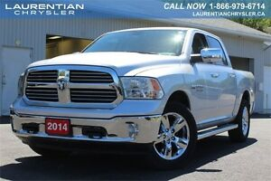 2014 Ram 1500 Big Horn- 5.7L V8+4X4+BLUETOOTH+CHROME ACCENTS & M